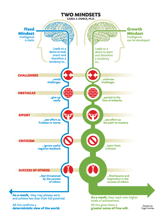 Growth mindset to promotion