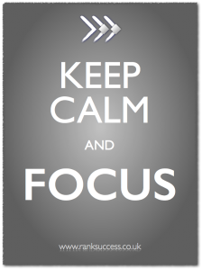 Keep Calm & Focus