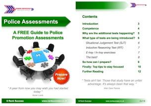 Police assessment tests