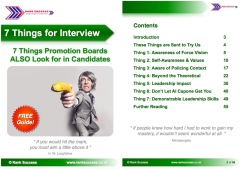 7 Things Interview