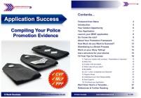 Application booklet success