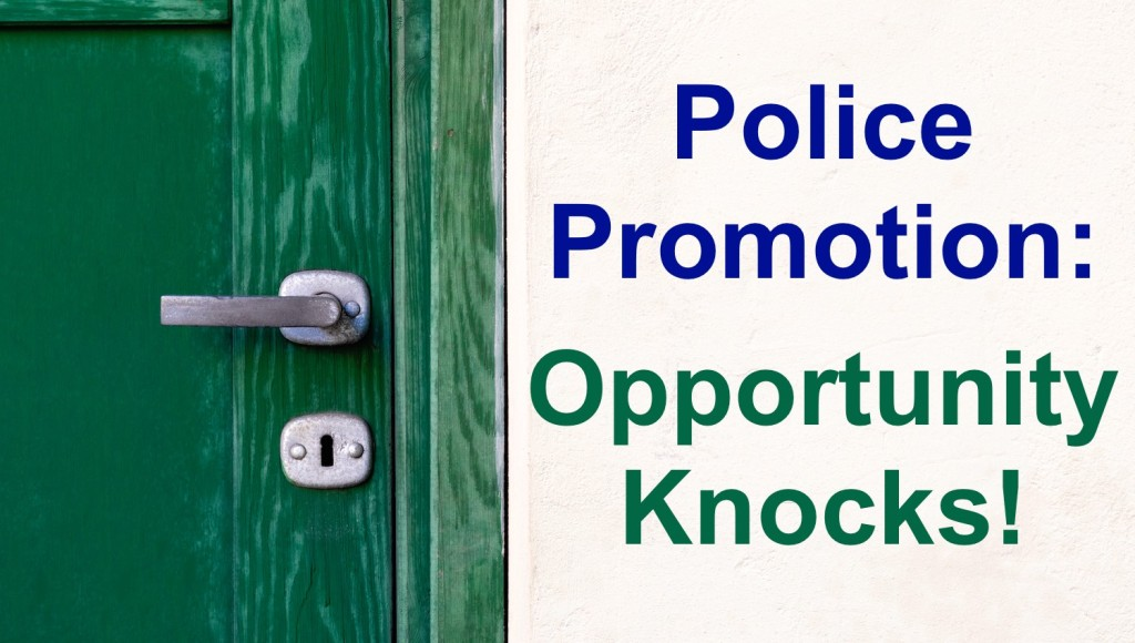 Police promotion opportunities