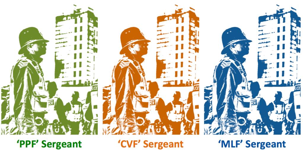 CVF sergeant police