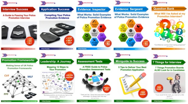Police promotion toolkit