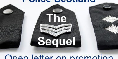 Police Scotland Promotion letter