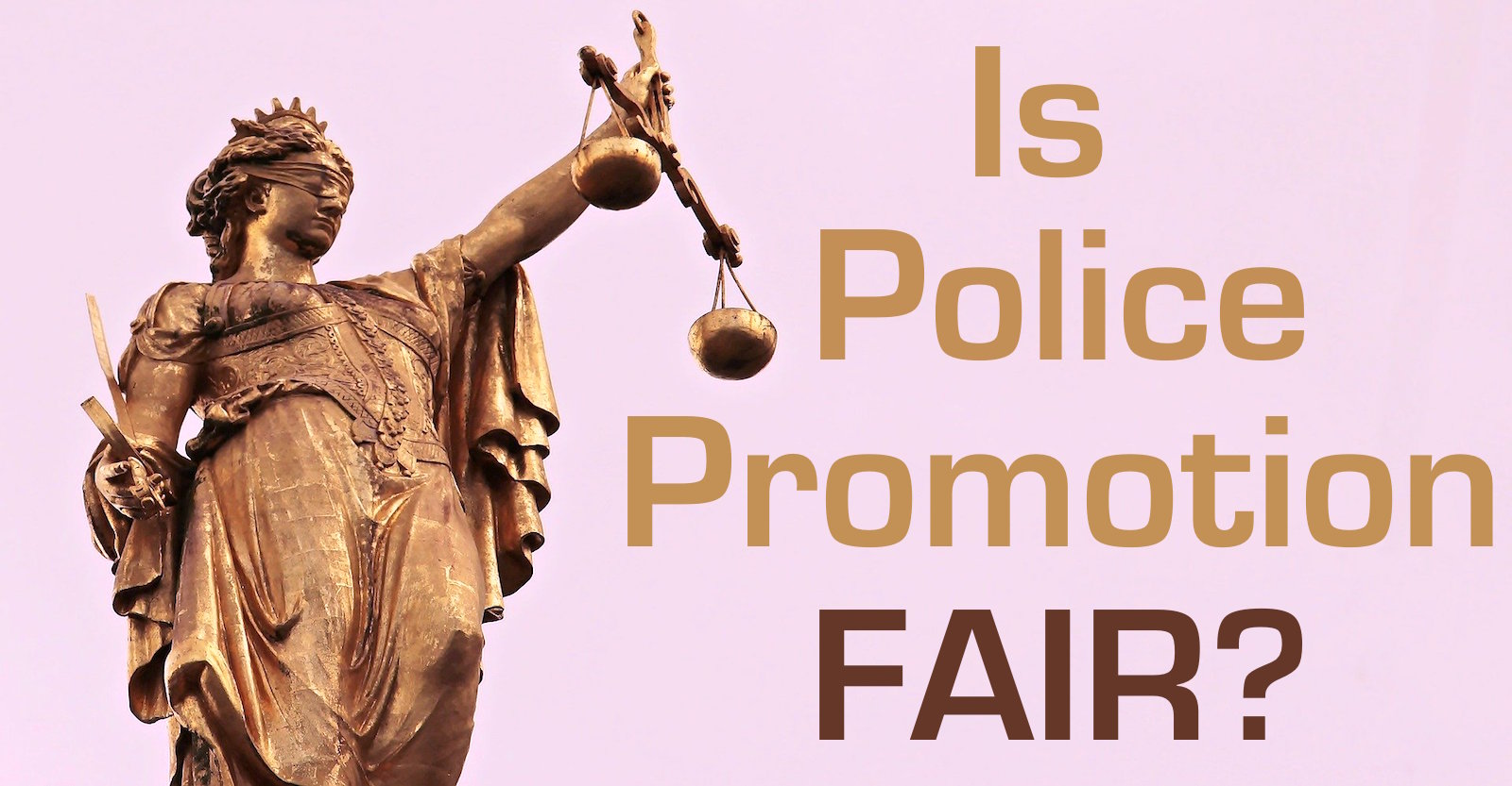 Police promotion fairness