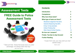 Police Assessment tests