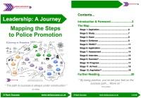 Police promotion UK