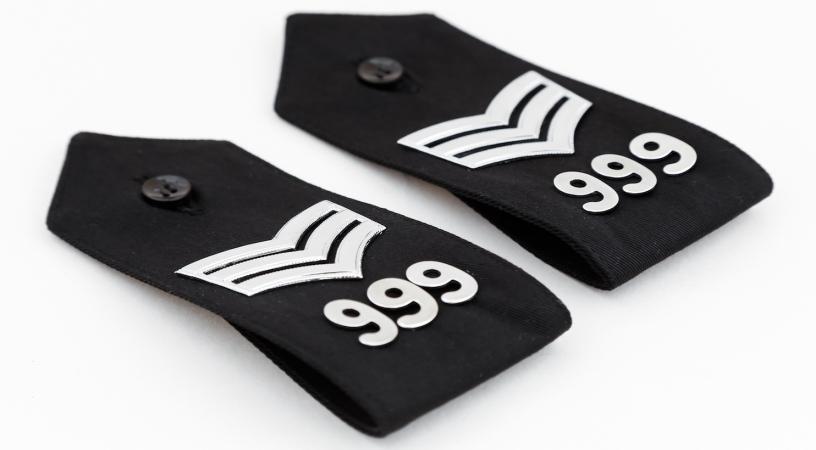 Sergeant Epaulettes badges rank