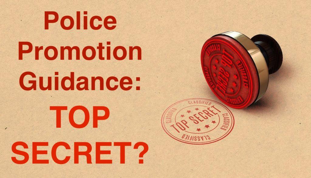 Secret sergeant promotion support