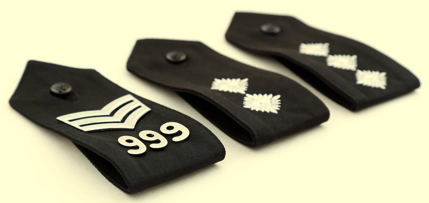 Sergeant Inspector promotion badges