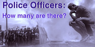 How many police officers in UK
