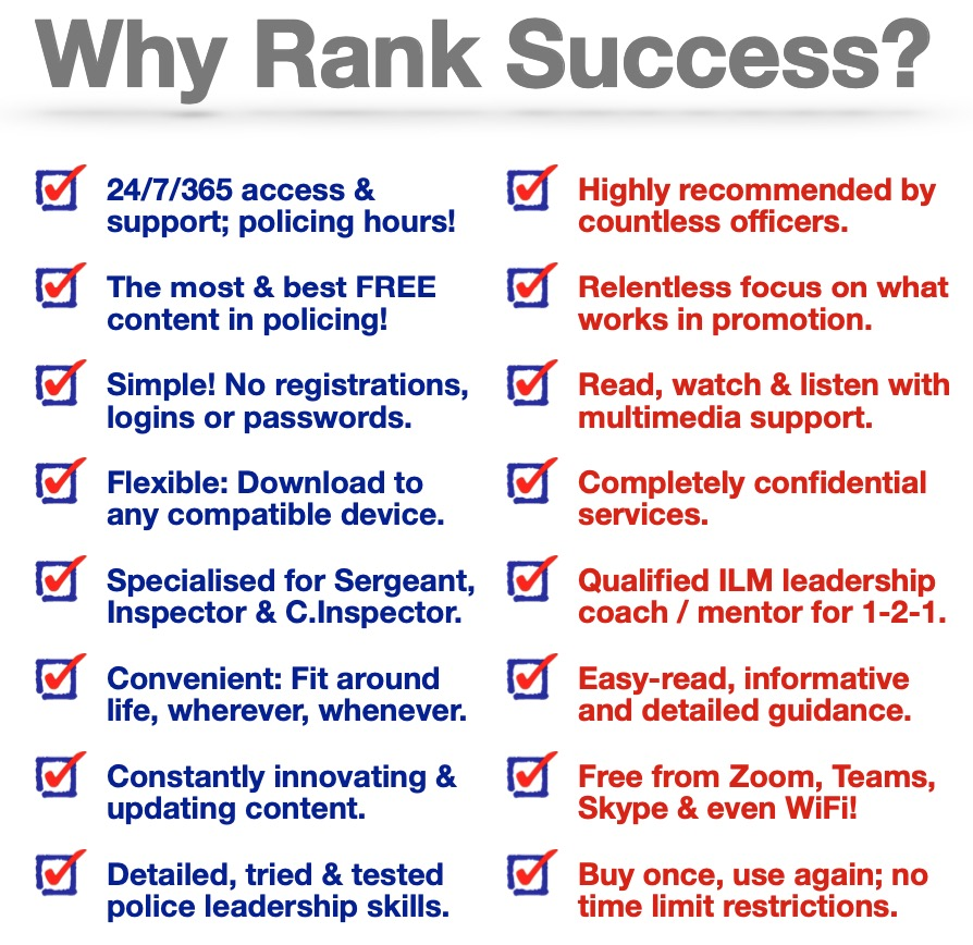 Why Rank Success